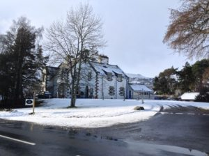 The Dower House in winter