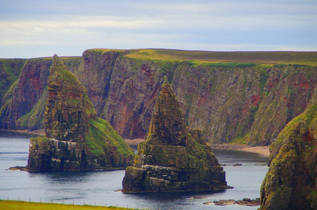 The Stacks of Duncansby, John O' Groats, Caithness